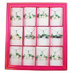Natyrore kulturuar Pearl ujërave të ëmbla bizhuteri Sets, Pearl kulturuar ujërave të ëmbla, Round, natyror, rozë, 16x24mm, 16x19mm, :15.5Inç, 12Sets/Kuti,  Kuti