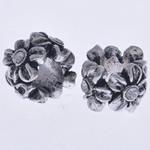 Beads European aliazh zink, Alloy zink, Lule, pa karrem, , nikel çojë \x26amp; kadmium falas, 10x7mm, : 4mm, 10PC/Qese,  Qese