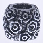 Beads European aliazh zink, Alloy zink, Daulle, pa karrem, , nikel çojë \x26amp; kadmium falas, 9x10mm, : 5mm, 10PC/Qese,  Qese