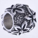 Beads European aliazh zink, Alloy zink, Daulle, pa karrem, , nikel çojë \x26amp; kadmium falas, 11x10mm, : 5mm, 10PC/Qese,  Qese