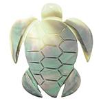 Pendants Natyrore Zi Shell, Black Shell, Breshkë, approx 50x43.8x3mm, : 1.5mm, 10PC/Qese,  Qese