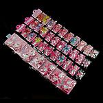 Fëmijët Accessory e flokeve, Rrëshirë, ngjyra të përziera, 34-43mm, 10-18mm,  Shumë