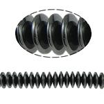 Non-Beads magnetik kuqe e mbylltë, Jo-magnetike kuqe e mbylltë, Numërator, e zezë, Një, 10x3mm, : 2mm, :15.5Inç, 10Fillesat/Shumë,  Shumë