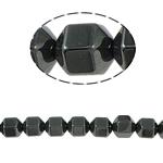 Non-Beads magnetik kuqe e mbylltë, Jo-magnetike kuqe e mbylltë, Kolonë, e zezë, Një, 10x10mm, : 2mm, :15.5Inç, 10Fillesat/Shumë,  Shumë