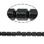 Beads magnetik kuqe e mbylltë, Kolonë, e zezë, Një, 3x3mm, : 1mm, :15.5Inç, 10Fillesat/Shumë,  Shumë