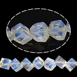 Deti Beads opal, Deti Opal, Kub, asnjë, 4x4x4mm, : 1mm, : 15.5Inç, 73PC/Fije floku,  15.5Inç,