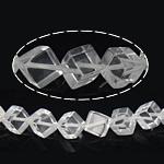 Beads kuarc bizhuteri, 14.50x15.50x9mm, : 1mm, : 15Inç, 30PC/Fije floku,  15Inç,