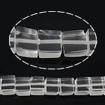Natürliche klare Quarz Perlen, Klarer Quarz, Würfel, 8x8.50x8mm, Bohrung:ca. 1mm, ca. 49PCs/Strang, verkauft per ca. 16 ZollInch Strang