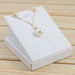 Natyrore kulturuar Pearl ujërave të ëmbla bizhuteri Sets, Pearl kulturuar ujërave të ëmbla, with 18K Gold, Round, natyror, asnjë, 11-12mm, :18Inç,  I vendosur