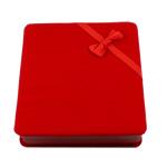 Kutia Velveteen Gjerdan, Katror, i kuq, 165x175x46mm,  PC