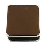 Byzylyk karton Box, with Velveteen, Katror, bojë kafe, 90x96x40mm,  PC