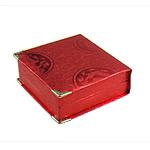 Byzylyk karton Box, Drejtkëndësh, i kuq, 95x94x32mm, 12PC/Qese,  Qese