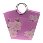 Shopping Bag, Letër, Trapez, i përzier, rozë, 315x110x3mm, 12PC/Qese,  Qese