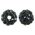 Çekë Beads diamant i rremë, Round, asnjë, me diamant i rremë, Reaktiv, PP8, 6mm, : 1mm, 10PC/Qese,  Qese