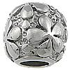 Stainless Steel Beads European, Daulle, pa karrem, 11.50x13mm, : 6mm, 10PC/Qese,  Qese