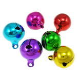 Tunxh Bell varëse, pikturë, ngjyra të përziera, , nikel çojë \x26amp; kadmium falas, 20x16mm, : 2.5mm, 500PC/Qese,  Qese