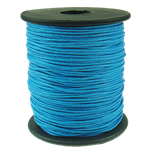 Cord Wax, blu, 1mm, :80Oborr,  PC