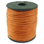 Cord Wax, portokall, 1mm, :80Oborr,  PC