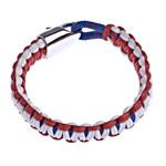 Bracelets Mbijetese, Cord Wax, multi-colored, 14x7mm, :7.5Inç,  7.5Inç,