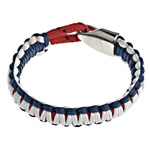 Bracelets Mbijetese, Cord Wax, multi-colored, 14x7mm, :7.5Inç,  7.5Inç,