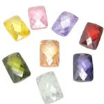 Varëse kub kub, Drejtkëndësh, ngjyra të përziera, 10x15x5mm, : 1mm, 10PC/Qese,  Qese