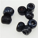 Lustered Glass Beads farë, Seed Glass Beads, Rondelle, 2x1.90mm, : 1mm,  Qese