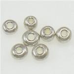 Silbereinzug Glas Rocailles, Glas-Rocailles, 2x1.90mm, Bohrung:ca. 1mm, verkauft von Tasche