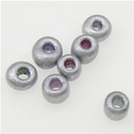 Opaque Glass Beads Seed, Seed Glass Beads, 2x1.90mm, : 1mm,  Qese