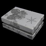 Karton Set bizhuteri Box, Drejtkëndësh, gri, 81x55.50x32mm, 50PC/Shumë,  Shumë