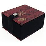 Gjerdan saten Box, with Velveteen, Drejtkëndësh, 73x83x49mm, 10PC/Shumë,  Shumë
