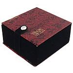 Saten byzylyk Box, with Velveteen, Katror, 90x90x51mm, 10PC/Shumë,  Shumë