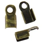 Këshilla Cord Hekuri, Ngjyra antike bronz i praruar, asnjë, , nikel çojë \x26amp; kadmium falas, 6x4x2mm, : 1.5mm, 10000PC/Qese,  Qese