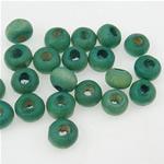 Beads druri, Rondelle, i lyer, e gjelbër, 3x4mm, : 2mm, 20830PC/Qese,  Qese