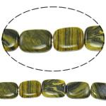 Regenbogen Venen Perlen, bunte Venen Stein, Rechteck, natürlich, 14x18x5.50mm, Bohrung:ca. 1.5mm, ca. 22PCs/Strang, verkauft per ca. 15.5 ZollInch Strang