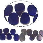 Natürliche Beschichtung Quarz Perlen, Natürlicher Quarz, Klumpen, plattiert, keine, 21-31mm, Bohrung:ca. 1.5mm, Länge:15.5 ZollInch, 20SträngeStrang/Menge, verkauft von Menge