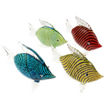 Dekorimi Moda, Lampwork, Kafshë, ngjyra të përziera, 74x92x27mm, 5PC/Shumë,  Shumë