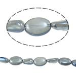 Beads Ovale Crystal, 15-20mm, : 1.2-1.5mm, :15.5Inç, 20Fillesat/Shumë,  Shumë