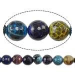 Natyrore kërcitje Beads Zjarri agat, YouTube Fire agat, Round, natyror, faceted, 6mm, : 1mm, : 15Inç, 10Fillesat/Shumë,  Shumë
