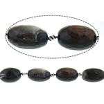 Lule natyrale Beads Ice agat, Ice kuarc agat, Oval, asnjë, asnjë, 19x18mm, : 2mm, : 15Inç, 5Fillesat/Shumë,  Shumë