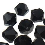 Swarovski Crystal Beads, Bicone, Reaktiv, 4mm, : 1mm, 50PC/Qese,  Qese