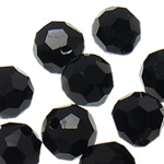 Swarovski Crystal Beads, Round, Reaktiv, 6mm, : 1mm, 50PC/Qese,  Qese