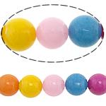 Beads Mermer Natyrore, Round, 16mm, : 2mm, : 15Inç, 5Fillesat/Shumë,  Shumë