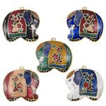 Pendants Cloisonne, Kafshë, i përzier, 30.50x3.50mm, : 1.5mm, 20PC/Qese,  Qese