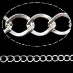 Stainless Steel Eyepins, Hekur, Romb, Ngjyra argjend praruar, asnjë, , nikel çojë \x26amp; kadmium falas, 7.10x9.10x1.30mm, :25m,  PC