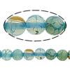 Natürliche Regenbogen Achat Perlen, rund, 8mm, Bohrung:ca. 1mm, Länge:ca. 15.8 ZollInch, 10SträngeStrang/Menge, ca. 50PCs/Strang, verkauft von Menge