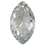 Swarovski Crystal Pendants, Syri kali, Greige, 21x37x12mm, : 1.5mm,  PC
