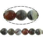 Botswana agat Natyrore Beads, Round, 12mm, : 1mm, : 16Inç, 2Fillesat/Shumë,  Shumë