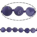 Beads Natyrore kuarc Ice agat, Ice kuarc agat, Round, 12mm, : 1.5mm, : 15Inç, 5Fillesat/Shumë,  Shumë