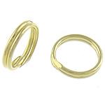 925 Sterling Silver Ring Tjetri, Petull e ëmbël në formë gjevreku, ari praruar vërtetë, asnjë, 8x8x0.80mm, : 6.5mm, 50PC/Qese,  Qese