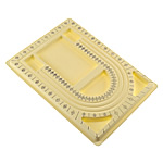 Bordi Bead Projektimi, Plastik, Drejtkëndësh, i verdhë, 330x250x20mm, 10PC/Qese,  Qese